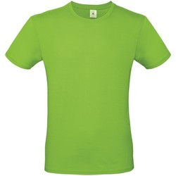 textil Hombre Camisetas manga corta B And C TU01T Verde Orquídea