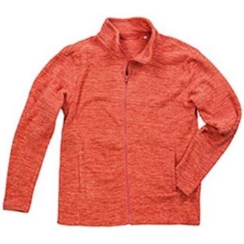 textil Hombre Polaire Stedman  Calabaza Jaspeado