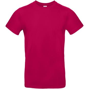 textil Hombre Camisetas manga corta B And C TU03T Rosa Sorbete