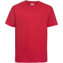 textil Niños Camisetas manga corta Russell 155B Rojo