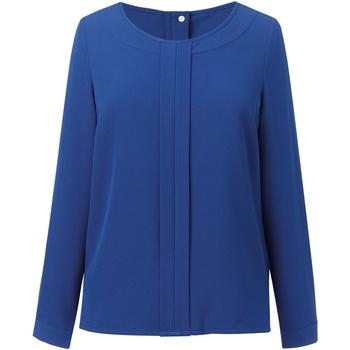 textil Mujer Tops / Blusas Brook Taverner BR121 Azul Real