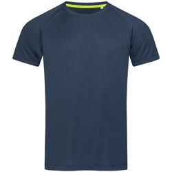 textil Hombre Camisetas manga corta Stedman  Azul Rey