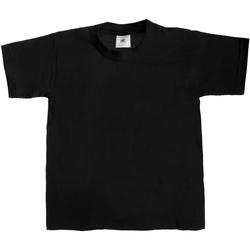 textil Niños Camisetas manga corta B And C TK301 Negro