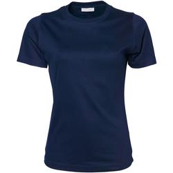 textil Mujer Camisetas manga corta Tee Jays Interlock Azul real