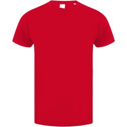 textil Niños Camisetas manga corta Skinni Fit SM121 Rojo brillante