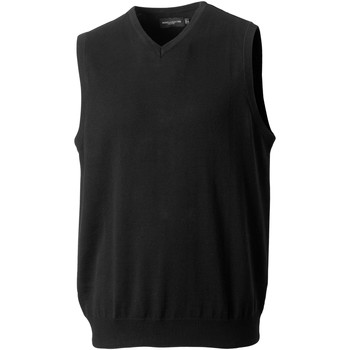 textil Hombre Chaquetas de punto Russell 716M Negro