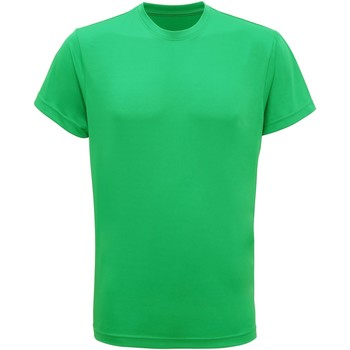 textil Hombre Camisetas manga corta Tridri TR010 Verde brillante