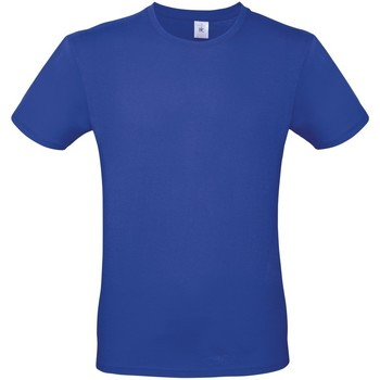 textil Hombre Camisetas manga corta B And C TU01T Azul Cobalto