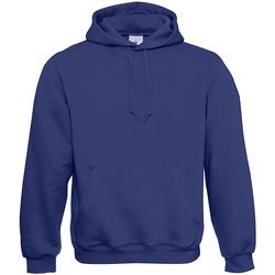 textil Hombre Sudaderas B And C WU620 Azul Eléctrico