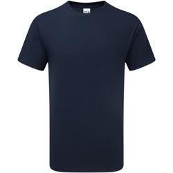 textil Hombre Camisetas manga corta Gildan H000 Marino Oscuro Deportivo
