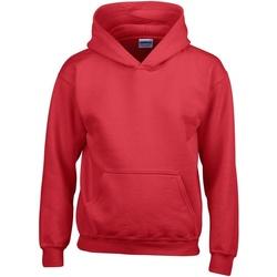 textil Niños Sudaderas Gildan 18500B Rojo
