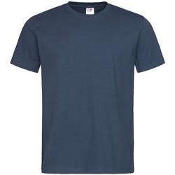 textil Hombre Camisetas manga corta Stedman  Azul marino