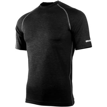 textil Hombre Camisetas manga corta Rhino RH002 Negro