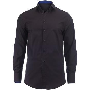 textil Hombre Camisas manga larga Alexandra Hospitality Negro/Real