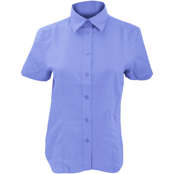textil Mujer Camisas Kustom Kit KK360 Azul Italiano