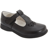 Zapatos Niña Bailarinas-manoletinas Boulevard  Negro Mate
