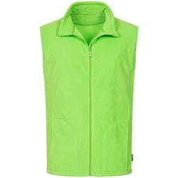 textil Hombre Chaquetas de punto Stedman  Verde Kiwi