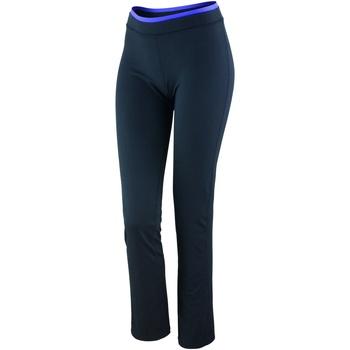 textil Mujer Leggings Spiro S275F Negro/Lavanda