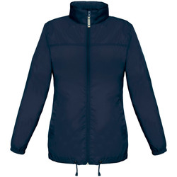 textil Mujer Cortaviento B And C JW902 Azul real