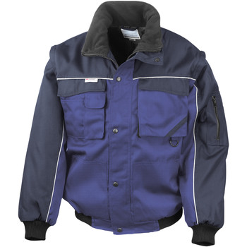 textil Hombre Chaquetas Result R71X Azul Real/ Azul marino