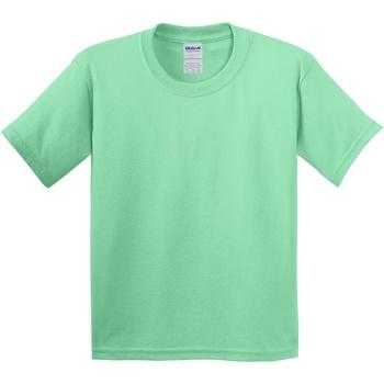 textil Niños Camisetas manga corta Gildan 5000B Verde menta