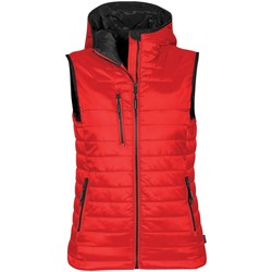 textil Mujer Plumas Stormtech PFV-2W Rojo/negro