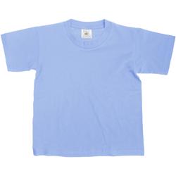 textil Niños Camisetas manga corta B And C TK300 Vaquero