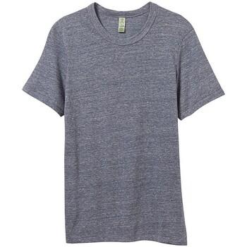 textil Hombre Camisetas manga corta Alternative Apparel AT001 Marino Eco