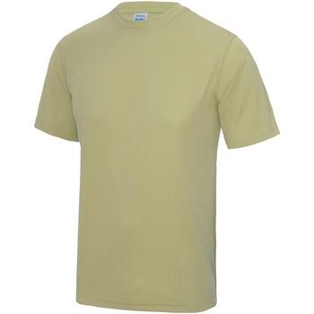 textil Hombre Camisetas manga corta Awdis JC001 Arena Desierto