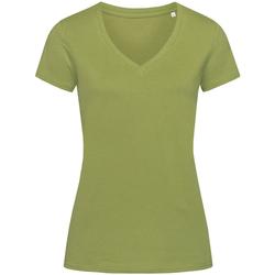 textil Mujer Camisetas manga corta Stedman Stars Janet Vede Tierra