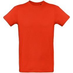 textil Hombre Camisetas manga corta B And C TM048 Rojo intenso