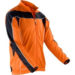 textil Hombre Chaquetas de deporte Spiro S255M Naranja/Negro