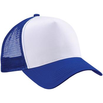 Accesorios textil Gorra Beechfield B640 Azul royal/Blanco