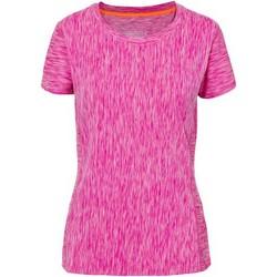 textil Mujer Camisetas manga corta Trespass Daffney Mezcla rosa
