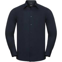 textil Hombre Camisas manga larga Russell 924M Marino French