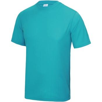 textil Hombre Camisetas manga corta Awdis JC001 Azul Hawai