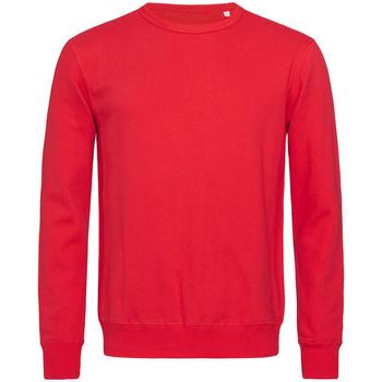 textil Hombre Sudaderas Stedman Active Rojo pasión