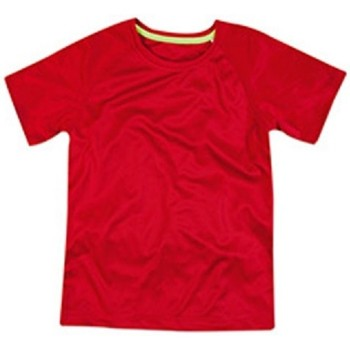 textil Niños Camisetas manga corta Stedman  Rojo pasión