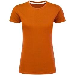 textil Mujer Camisetas manga corta Sg Perfect Naranja