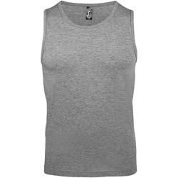 textil Hombre Camisetas sin mangas Sols 11465 Gris Jaspeado