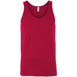 textil Mujer Camisetas sin mangas Bella + Canvas CA3480 Rojo