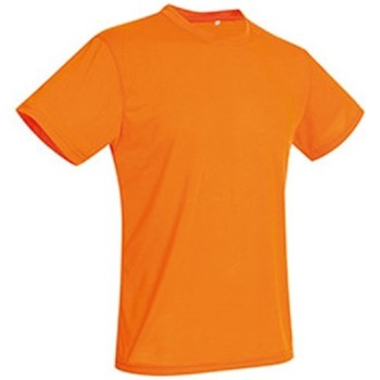 textil Hombre Camisetas manga corta Stedman  Naranja Cyber