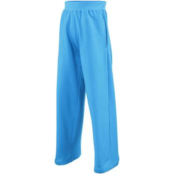textil Niños Pantalones de chándal Awdis  Azul zafiro