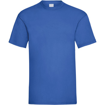 textil Hombre Camisetas manga corta Universal Textiles 61036 Azul cobalto