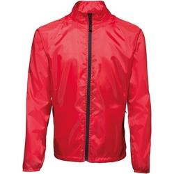 textil Hombre Cortaviento 2786 TS011 Rojo / Negro