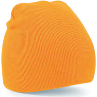 Accesorios textil Gorro Beechfield B44 Naranja fluorescente