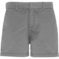 textil Mujer Shorts / Bermudas Asquith & Fox AQ061 Gris