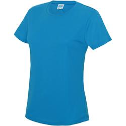 textil Mujer Camisetas manga corta Awdis JC005 Azul Zafiro