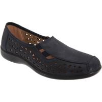 Zapatos Mujer Mocasín Boulevard  Azul real
