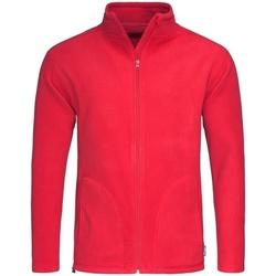 textil Hombre Polaire Stedman  Rojo Escarlata